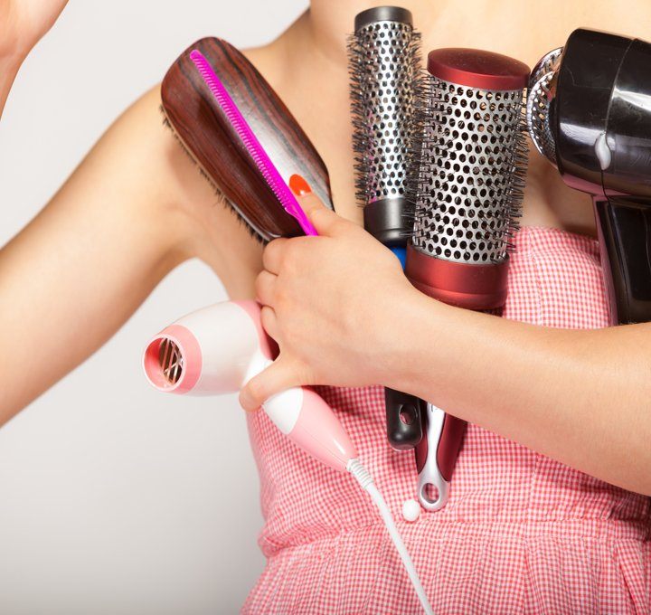 Hair Loss' BFF-Styling Tools